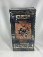 1995 COMIC IMAGES CONAN III ALL-CHROMIUM (36) PACK SEALED BOX