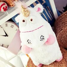 22'' Despicable Me 3D Ride Agnes Fluffy Unicorn Plush Toy Stuffed Animal Doll