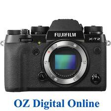 NEW Fujifilm X-T2 Body Black Mirrorles 24.3MP 4K Wifi Digital Camera 1 Yr AusWty