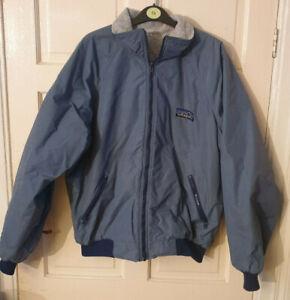 Vintage Patagonia Fleece Jacket Grey Size XL FREE POST