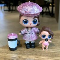 LOL Surprise Doll Bling Holiday Series POSH & Lil POSH Sister Glam Girl  gift