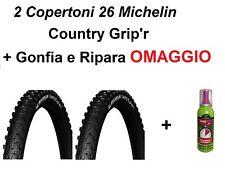 2 Copertoni Bici MTB 26 Michelin Country Grip 26x2.10 Rigido Bicicletta Gomme