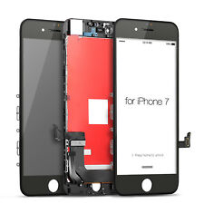 New Iphone 7 LCD Display Touch Screen Digitizer Replacement - Black + Protector