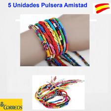 5 UNIDADES PULSERA AMISTAD DIVERSOS COLORES