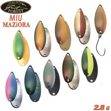 Forest Miu Maziora 2.8 g 28 mm trout spoon various color