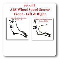 2 ABS Speed Sensor Front Left & Rigt For TOYOTA AVALON 2005-2012 CAMRY 2006-2011