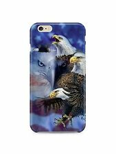 American Eagle Flag USA iPhone 4S 5S 5c 6S 7 8 X XS Max XR Plus Case ip1