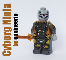 LEGO Custom Metal Gear Cyborg Ninja Gray Fox Super heroes minifigures marvel dc