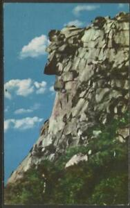 B0339 Old Man of the Mountain 1960s Post Card Postcard Franconia Notch NH