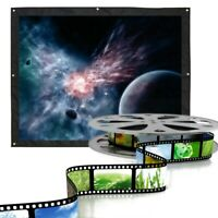 60-150 inch 4:3 HD Portable Projector Screen Home Outdoor Stage Cinema Theater