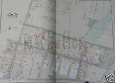 ORIG 1905 BROOKLYN NEW YORK NY MAP ATLAS E. BELCHER HYDE FT. HAMILTON Plate 30