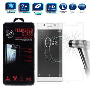 NEW Clear Tempered Glass Screen Protector For Sony Xperia L1 G3312 G3311 G3313