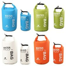 UK 2L-5L Waterproof Pouch Camping/Dry Bag for Kayaking Canoeing Rafting Swim
