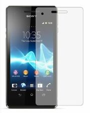2 Pack Screen Protectors Protect Cover Guard Film For Sony Xperia V
