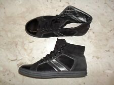 Scarpe HOGAN originale Mod. REBEL Made in Italy in vera Pelle e Paillettes n 37