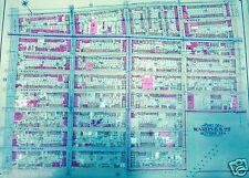 1904 BELCHER HYDE MAP ATLAS PARK SLOPE BROOKLYN NY PS 110&145 GREENWOOD CEMETERY