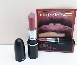 """MAC """"mini M·A·C"""" Matte Lipstick, #608 Mehr, 1.8g, Brand New in Box!"""