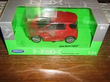 BY WELLY DIECAST - ASTON MARTIN CYGNET - RED - 1:24 Scale