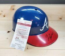 Tom Glavine Autographed Atlanta Braves Souvenir Batting Helmet Full Size (JSA)