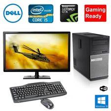 Fortnite Dell Gaming PC Desktop Quad Core i5 GTX 750TI 8GB 1TB HDD Win 10 Bundle