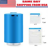 Mini Automatic Compression Vacuum Sealer Electric Air Pump Foodsaver Storage Bag