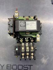 General Electric Ge Cr207d100mgn Size 2 Motor Starter