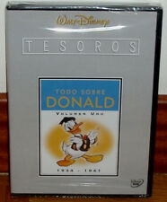 TESOROS DISNEY TODO SOBRE DONALD VOL.1 (1934-1941) 2 DVD NUEVO PRECINTADO R2
