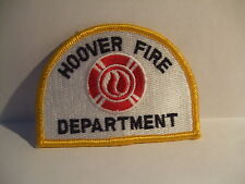 fire patch   HOOVER FIRE DEPARTMENT UNKNOWN STATE