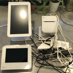 Clover POS Station with Clover Mini, Printer, and Clover Flex