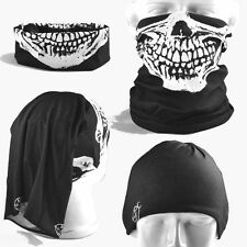 MULTI SCARF NECK FACE HEAD SOCK TUBE MASK BAND Skull Biker Triumph Harley Indian