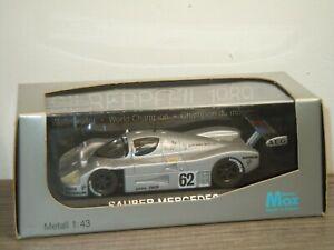 Sauber Mercedes C9 - Max Models 1:43 in Box *39885