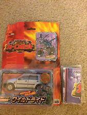 Transformers Robot in Disguise RID Car Robots C-002 Wild Ride (X-Brawn)  2000