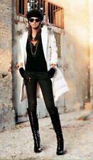 DENNY ROSE PIUMINO cappotto lungo art. 4530 tg. S o M colore NERO,tg. L  BIANCO