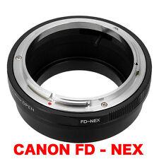 FD - NEX  Canon FD FL Objektiv Lens Adapter an -To Sony Alpha NEX Kamera E-Mount