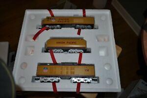 MTH O Gauge RailKing Union Pacific Gas Turbine 3 Piece Diesel Set PS-1 30-2009-1