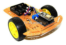 2WD WiFi ESP8266 NodeMCU Motor Shield Chassis Smart Car Kit for Arduino DIY