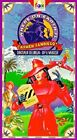 Where on Earth is Carmen Sandiego - Dinosaur Delirum / By A Whisker VHS, 1995