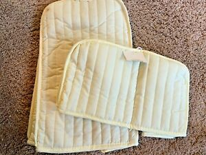 Ritz Appliance Covers Lot of 2 Quilted Beige Blender Mixer Toaster $22 Value