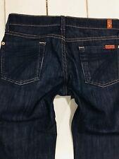 Ladies Seven For All Mankind Crop Dojo Capri Jeans Size 26 X 21 MINT CONDITION