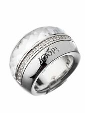JOOP! JPRG90341B530 / JJ0729 Sterling Silver Women's Ring FREE DELIVERY WORLDWID