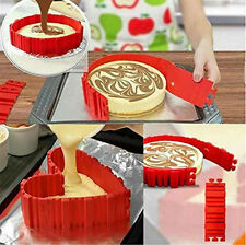 4Pcs new Nonstick Silicone Cake Mold Magic for Bake Snakes Diy Baking Tools a2