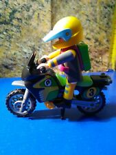 PLAYMOBIL ADVENTUROUS BIKER PARIS DAKAR