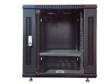 "12U 24"" depth Wall Mount Network IT Server Cabinet Rack HQ Lockable Enclosure"