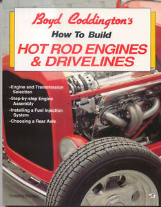 How to Build Hot Rod Engines & Drivelines by Timothy Remus MBI 1993
