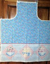 Apron Panel Fabric Kitchen  Garden Harvest Country  Bake