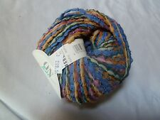 On Line Linin 95 Summer Mistral #04 Blue/Yellow/Pink  Super Bulky Cotton Blend