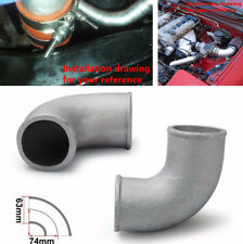 "2,5 "" Cast Aluminium Ellenbogen Rohr 90 Grad Bend Intercooler Turbo Tight Rohr"