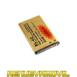 Bateria BL-4C BL4C Para Nokia 5100 6100 6260 108 1661 1662 C2-05 X2 6300 6126
