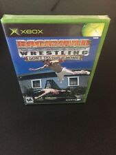 Backyard Wrestling Don't Try This At Home NEW factory sealed XBOX Game
