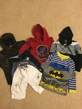 Boys Clothes Size 4 And 4/5 Lot Of 8 Levis,Scoop,H&M,One Point One,Wonder Kids